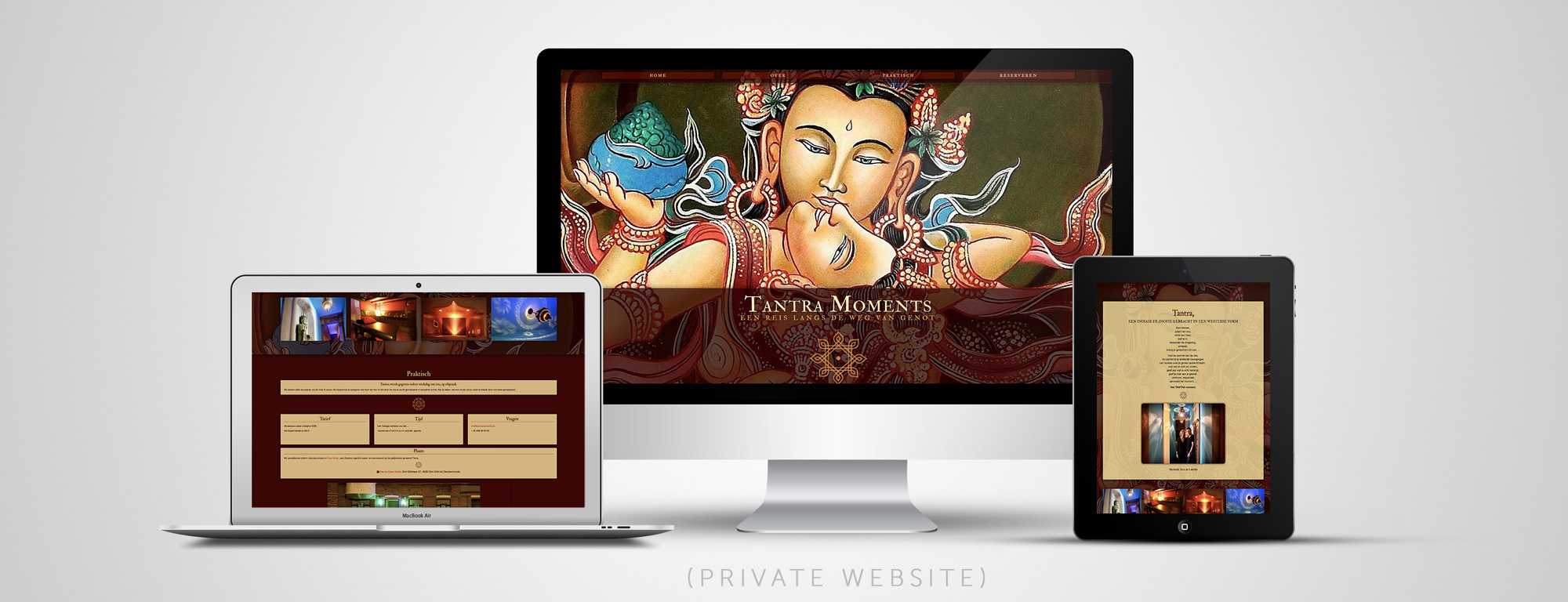 GreyClouds - webdesign | Tantra Moments